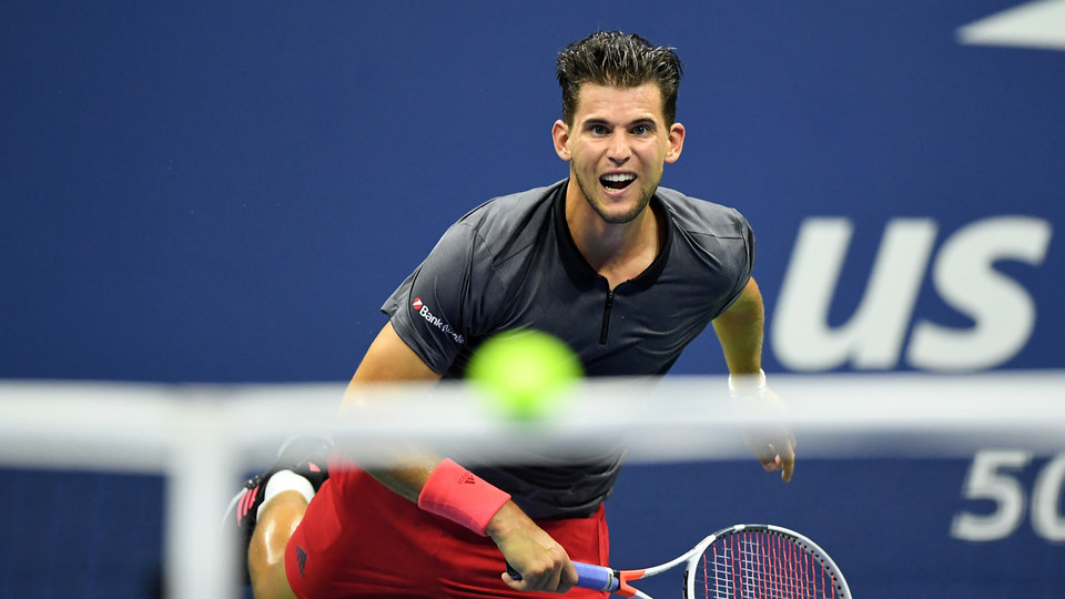 September 4, 2018 - Dominic Thiem in action against Rafael Nadal during the 2018 US Open.