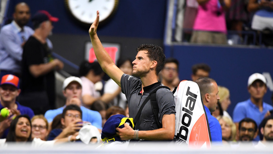 September 4, 2018 - Dominic Thiem exits Arthur Ashe Stadium during the 2018 US Open.