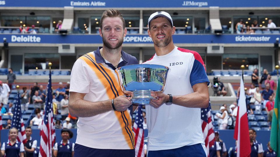 Mike Bryan wins record 18th Slam doubles title with Jack Sock