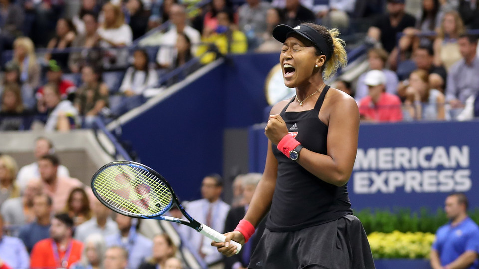 September 8, 2018 - Naomi Osaka in action against Serena Williams in the women's singles final at the 2018 US Open.