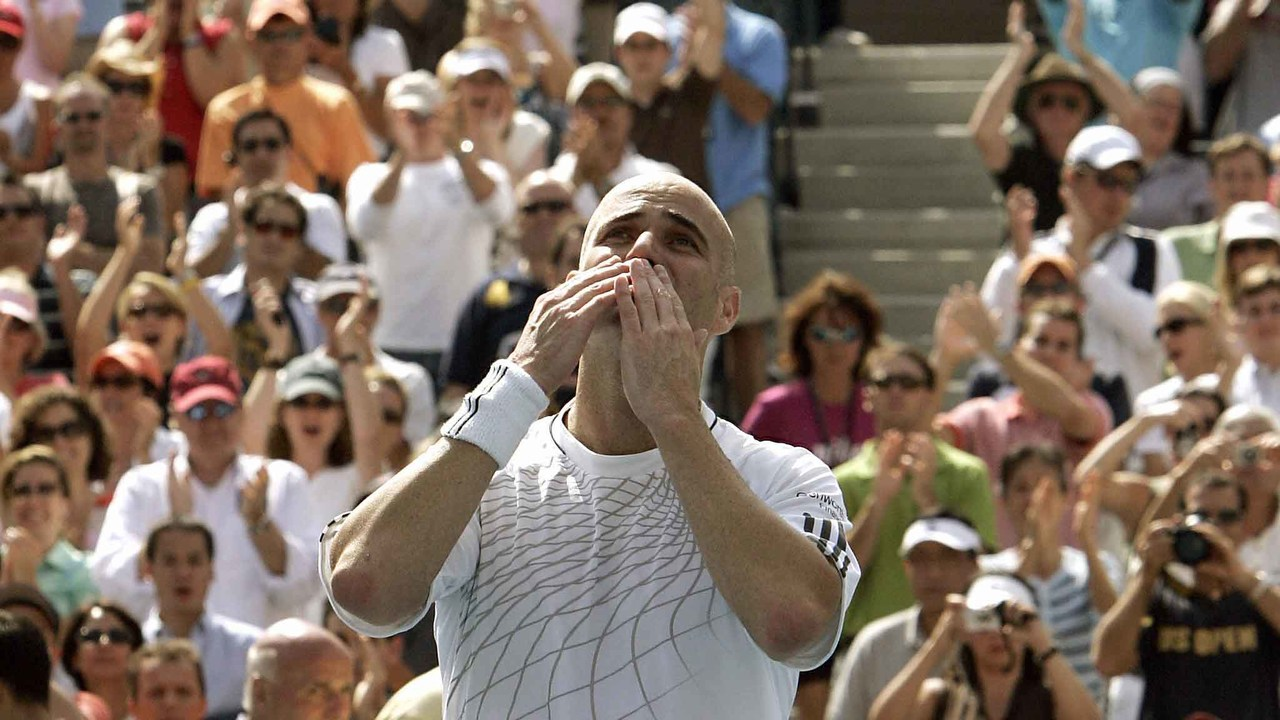 50 Moments That Mattered: Agassi plays his last US Open