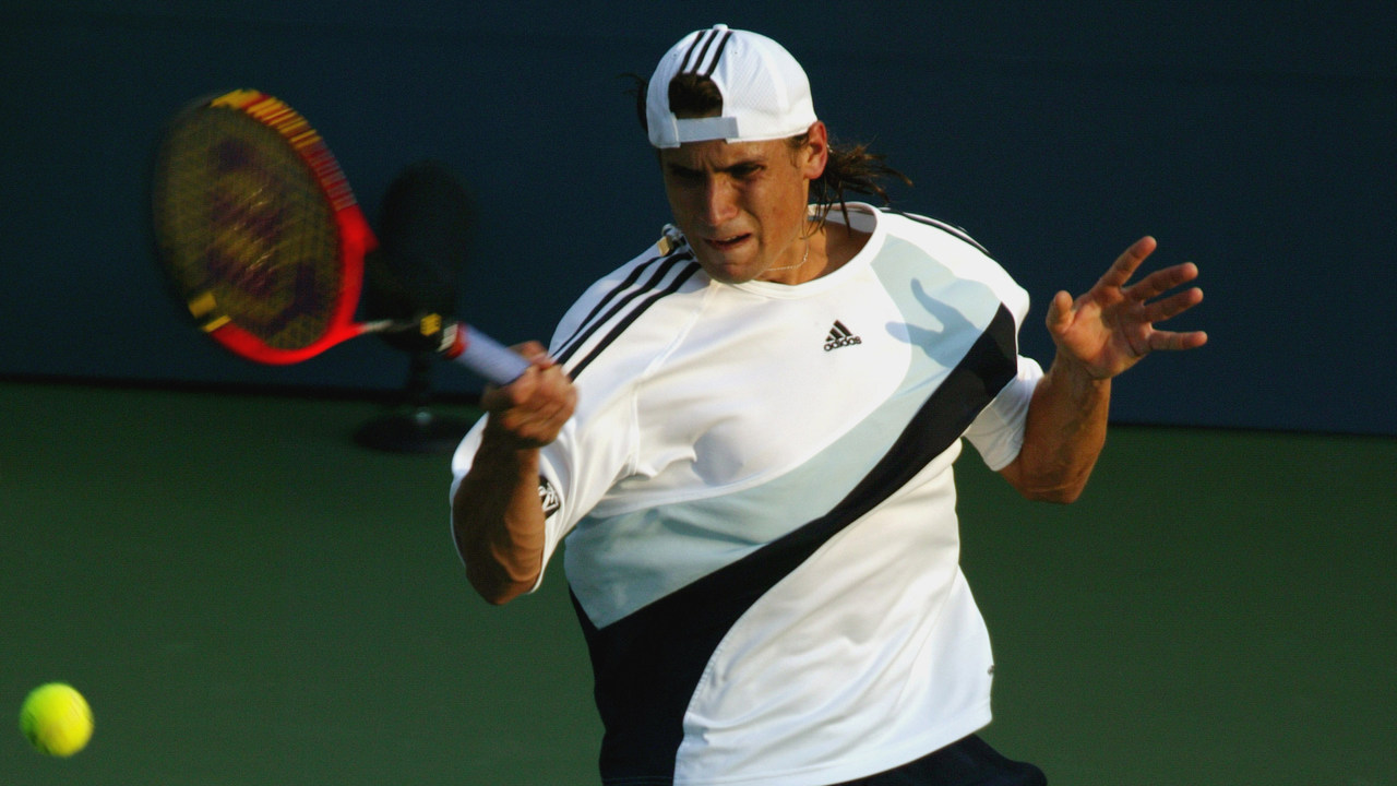 Photos: David Ferrer's career at the US Open